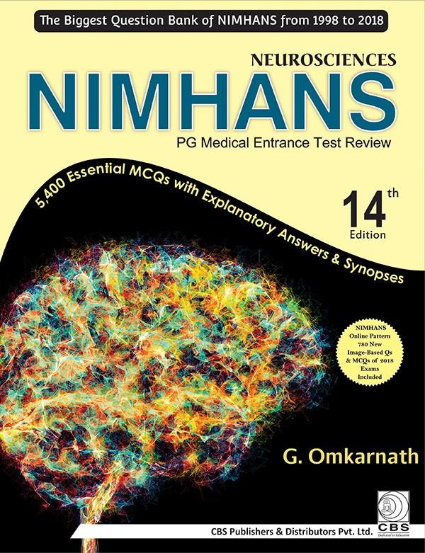 Neurosciences NIMHANS PG Medical Entrance Test Review