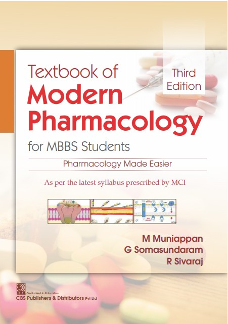 Textbook of Modern Pharmacology for MBBS Students, 3/e