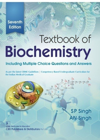 Textbook of Biochemistry, 7/e  Including Multiple Choice Questions and Answers   9789389688092