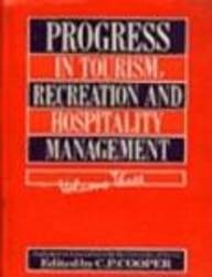 Progress In Tourism, Recreation & Hosp. Mgmt, Vol.3