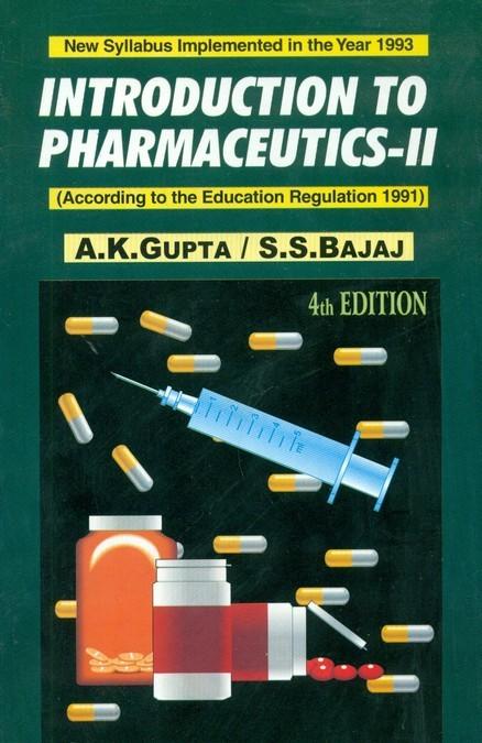 Introduction To Pharmaceutics-II