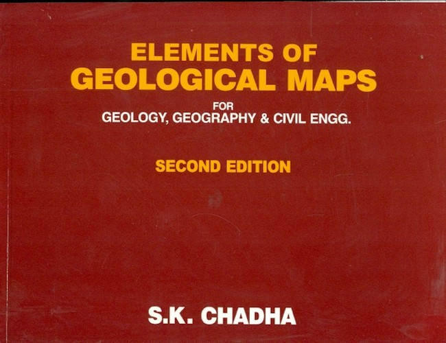Elements Of Geological Maps For Geology, Geography & Civil Engg, 2E (Pb-2014)