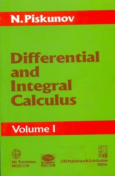 Differential And Integral Calculus Vol 1