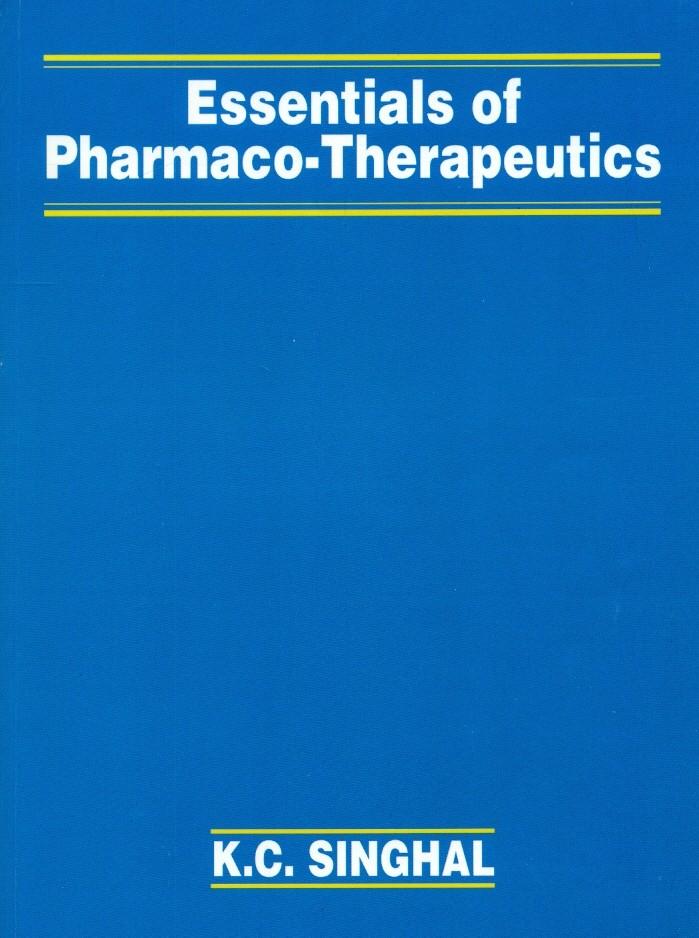 Essentials Of Pharmaco Therapeutics (Pb-2016)