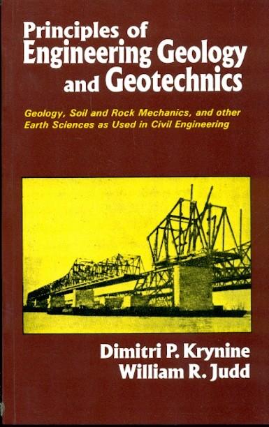 Principles Of Engineering Geology And Geotechnics (Pb 2005)