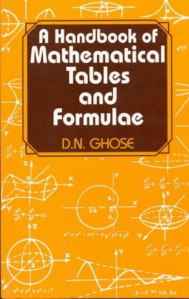 A Handbook Of Mathematical Tables And Formula ( Pb 2014)
