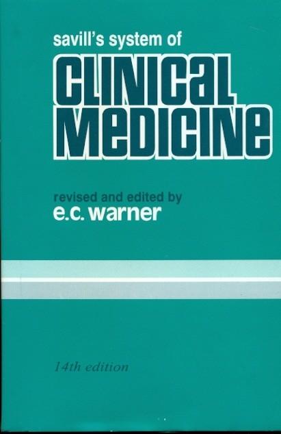 Savills System Of Clinical Medicine, 14E