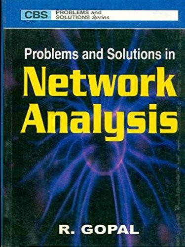 Problems And Solutions In Network Analysis (Pb 2016)