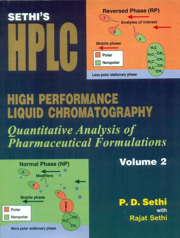 High Performance Liquid Chromatography, Vol 2
