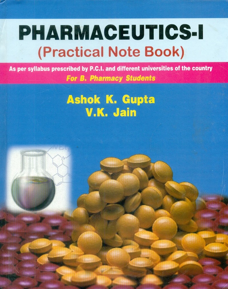 Pharmaceutics - I (Practical Note Book)