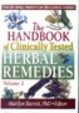The Handbook Of Clinically Tested Herbal Remedies, Vol. 2