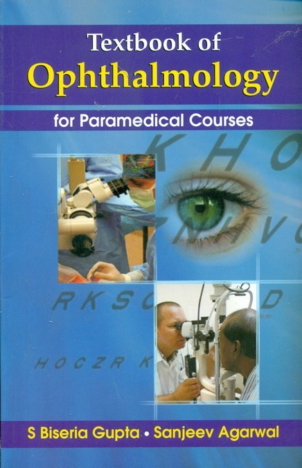Textbook Of Opthalmology For Paramedical Courses (Pb 2016)
