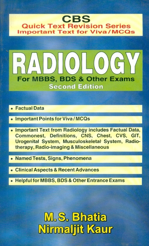 Radiology - For Mbbs, Bds & Other Exams, 2E