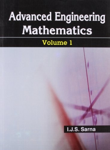 Advance Engineering Mathematics, Vol.1 (Pb)
