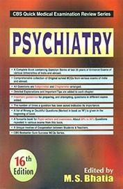 Psychiatry (Cbs Quick Medical Examination Review Series) (Pb)