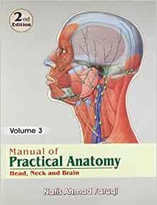 Manual Of Practical Anatomy, 2/E, Vol.3- Head, Neck & Brain (Pb-2013)