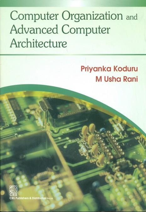 Computer Organization And Advanced Computer Architecture (Pb-2013)