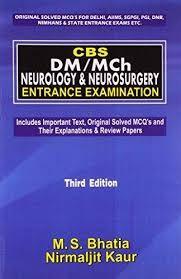 Cbs Dm/Mch Neurology & Neurosurgery Entrance Examination , 3E (Pb-2016)