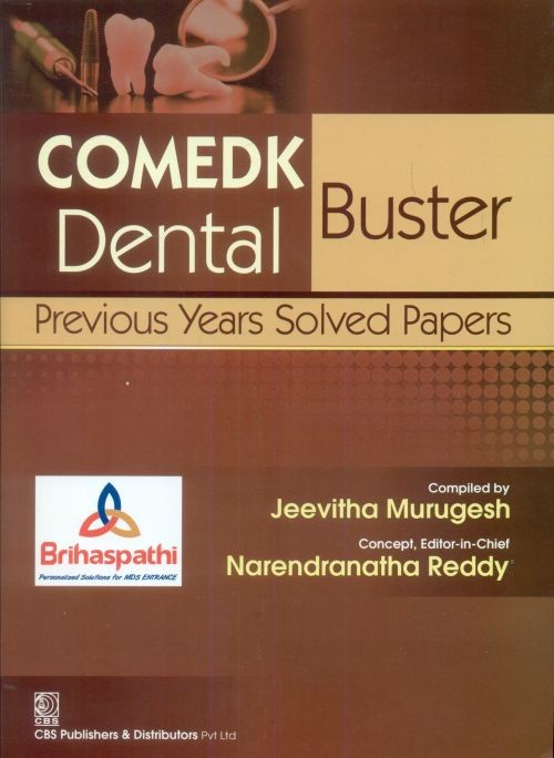 Comedk Dental Buster Previous Years Solved Papers (Pb-2014)