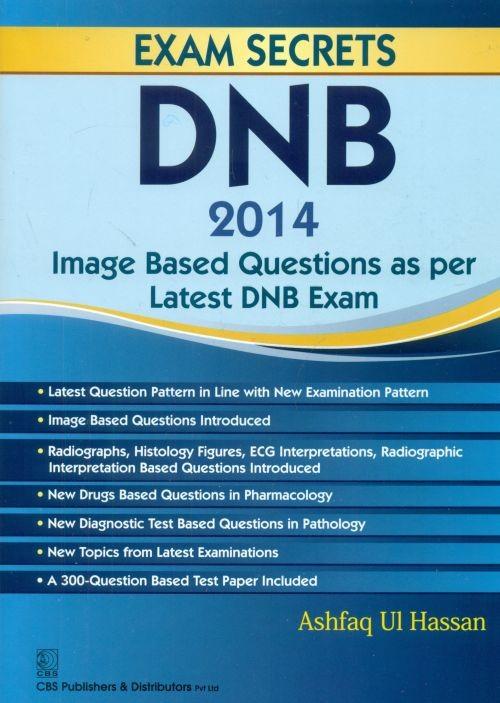 DNB 2014: IMAGE BASED QUESTIONS AS PER LATEST DNB EXAM (PB 2014)