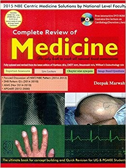 Complete Review of Medicine With DVD + Marwah Internal Medicine MCQ