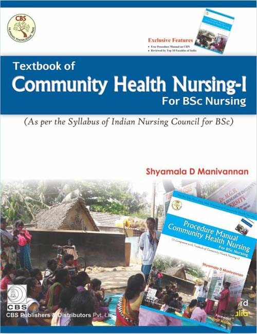 Textbook Of Community Health Nursing- I For Bsc Nursing With Procedure Manual Community Health Nursing For Bsc Nursing (Pb 2017