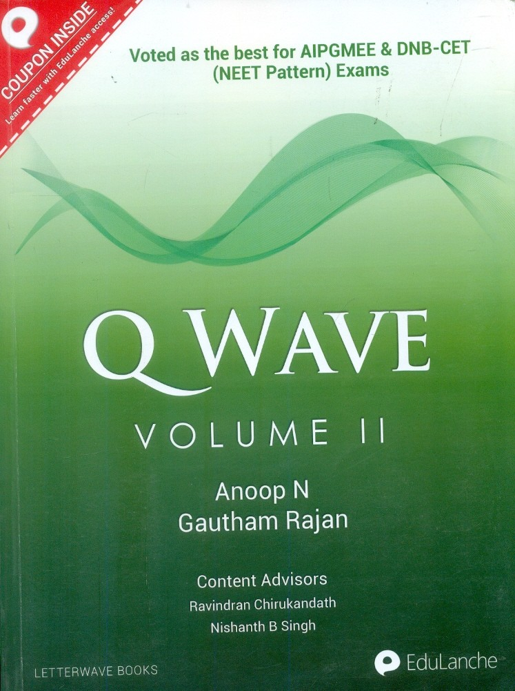 Q WAVE VOL 2 FOR AIPGMEE AND DNB-CET (NEET PATTERN) EXAMS (PB 2015)