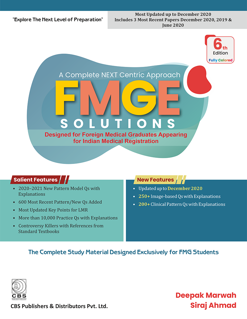 A Complete Next Centrix Approach FMGE Solutions 6ed (Fully Colored)