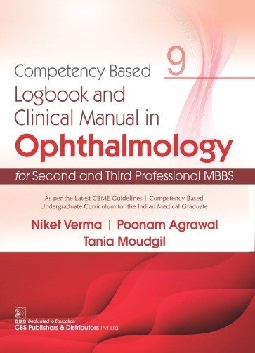 Competency Based Logbook and Clinical Manual in Ophthalmology for Second and Third Professional MBBS