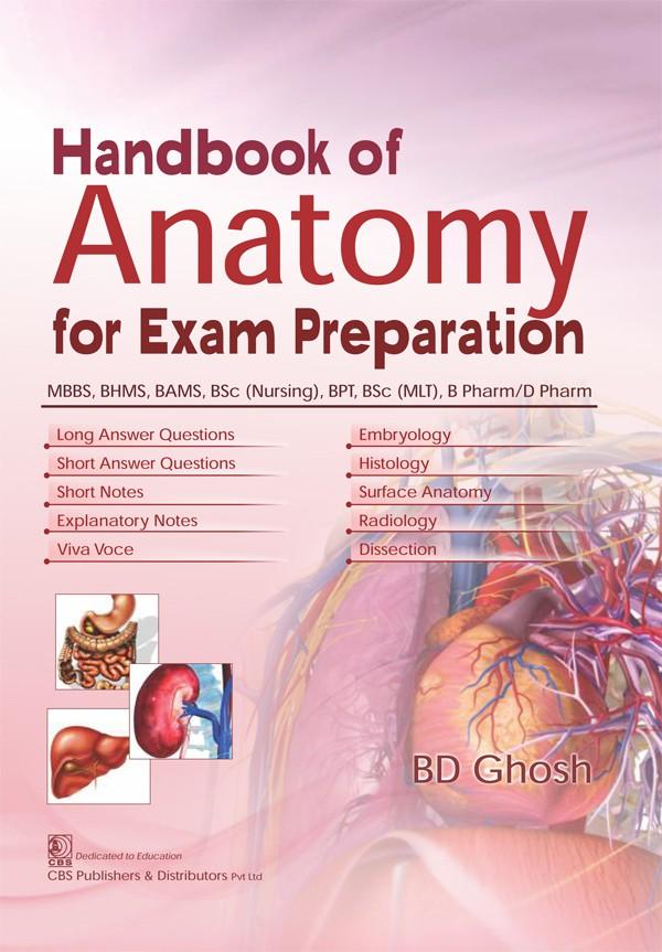 Handbook of Anatomy for Exam Preparation