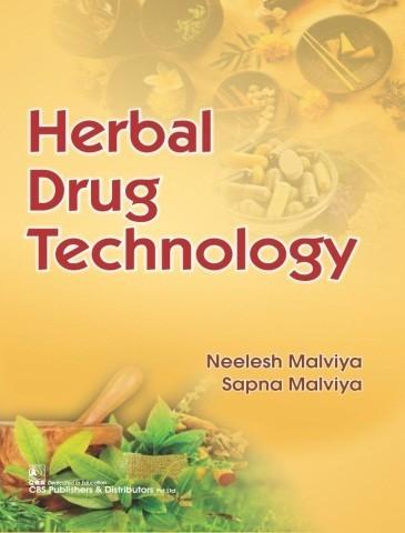 Herbal Drug Technology (1st Reprint)  | 9789387964334 | MALVIYA N