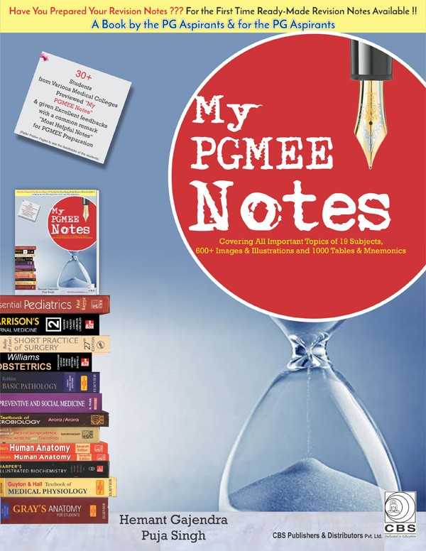 My PGMEE Notes