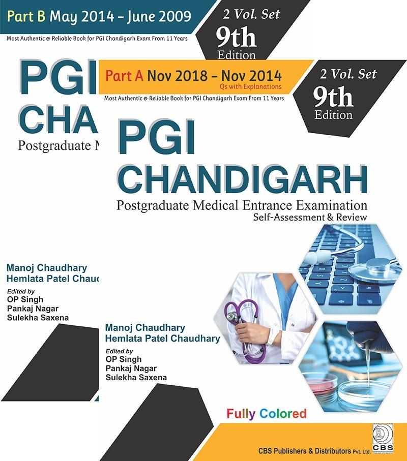 PGI Chandigarh (Part A & Part B)-2 Volume Set