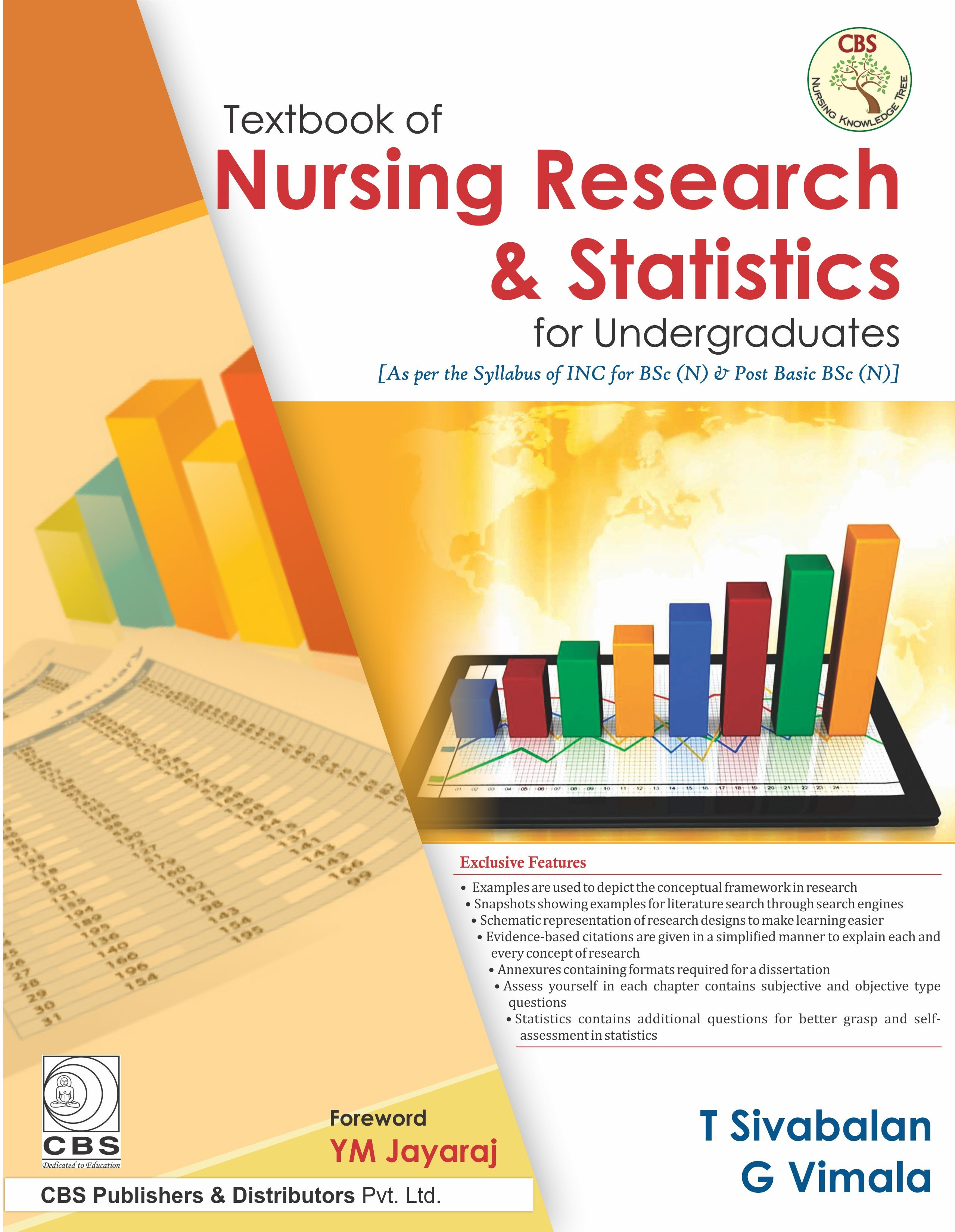 Textbook of Nursing Research & Statistics for Undergraduate