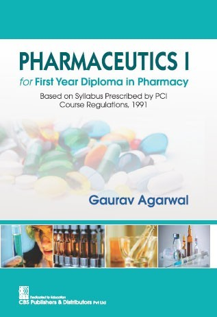 Pharmaceutics I, 2nd reprint for First Year Diploma in Pharmacy Based on Syllabus Prescribed by PCI Course Regulations, 1991