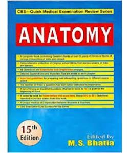 Anatomy 15/E: Cbs-Quick Medical Examination Review Series