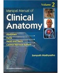 Manipal Manual Of Clinical Anatomy Vol 2 (Pb 2017)