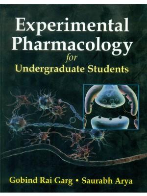 Experimental Pharmacology For Undergraduate Students