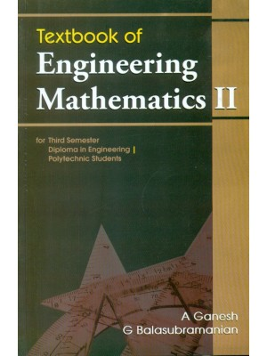 Textbook Of Engineering Mathematics- Ii