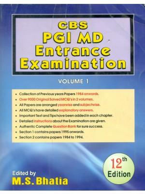 Cbs Pgi Md Entrance Examination, 12E, Vol.1