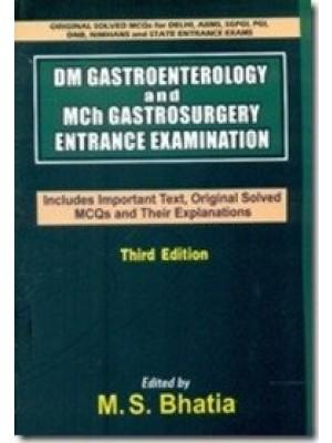 Dm Gastroenterology And Mch Gastrosurgery Entrance Examination, 3E (Pb-2016)