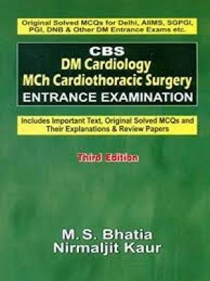 Cbs Dm Cardiology Mch Cardiothoracic Surgery Entrance Examination 3Ed (Pb 2016)