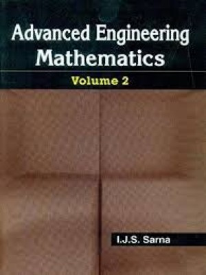 Advanced Engineering Mathematics, Vol. 2 (Pb 2015)