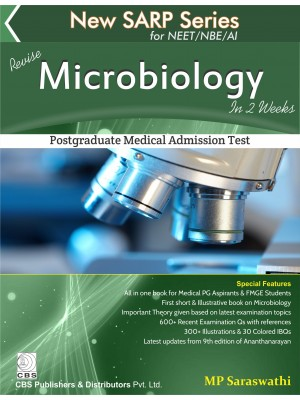 New Sarp Series For Neet/Nbe/Ai Revise Microbiology In 2 Weeks (Pb 2017)