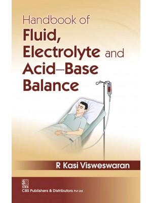 Handbook of Fluid, Electrolyte and Acid-Base Balance,1st reprint