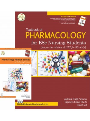 Textbook Of Pharmacology For Bsc Nursing Students With Revision Booklet (Pb 2017)