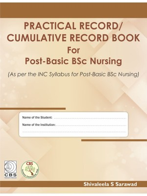 Practical Record / Cumulative Record Book for BSc Nursing