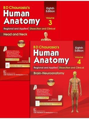 Human Anatomy, 8/e, Volumes 3 and 4 (Set of 2)