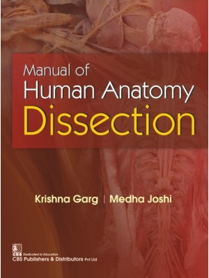 Manual of Human Anatomy Dissection 1st reprint