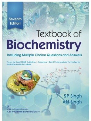Textbook of Biochemistry, 7/e  Including Multiple Choice Questions and Answers | 9789389688092